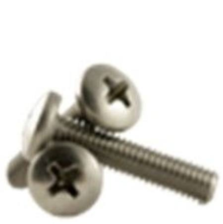 Buy M4-0.70 x 6mm 304 STAINLESS STEEL PAN PHILLIPS MACHINE SCREW in NZ.