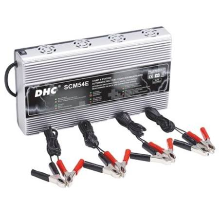MATSON DHC 4 BANK BATTERY CHARGER 12V x 5AMP