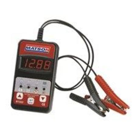 MATSON DIGITAL BATTERY AND SYSTEM TESTER