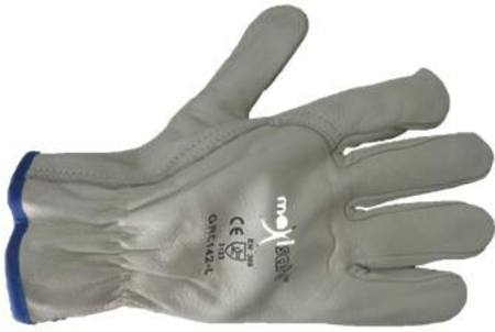 MAXISAFE PREMIUM LEATHER RIGGERS GLOVES LARGE(GRP141-11)