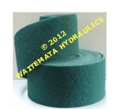 NYLON GREEN SCRUBBER ROLL 150mm x 10mtr MEDIUM