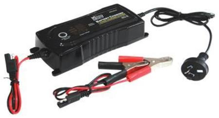 POWER TRAIN 12v 12A  7 STAGE PULSE SMART BATTERY CHARGER