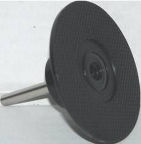 QUICK-LOK 75mm RUBBER BACKING PAD 6mm SHAFT