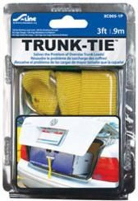 S LINE TRUNK TIE FOR HOLDING CLOSED OVERLOADED CAR BOOTS