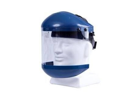 SAFE-T-TEC FACESHIELD WITH CHIN GUARD CLEAR VISOR