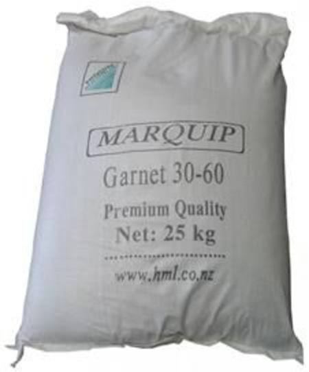 Buy SANDBLAST GARNET 30/60 MESH 25KG BAG in NZ.