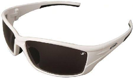 SCOPE PERVERT ARCTIC WHITE FRAME SAFETY SPECTACLE SMOKE LENS
