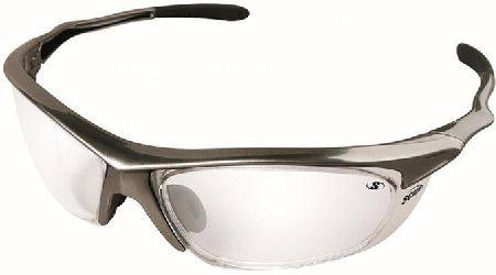 SCOPE ROGUE2 CHROME FRAME SAFETY SPECATACLES CLEAR LENS