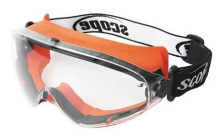 SCOPE VELOCITY XTREME MOLTEN METAL SAFETY GOGGLE CLEAR LENS