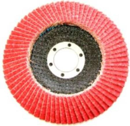 SG CERAMIC FLAP DISC 100 x 16MM C40 GRIT