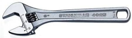 "STAHLWILLE 4025 4""/100mm ADJUSTABLE WRENCH"