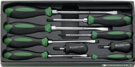 STAHLWILLE 4693 9pc SCREWDRIVER SET
