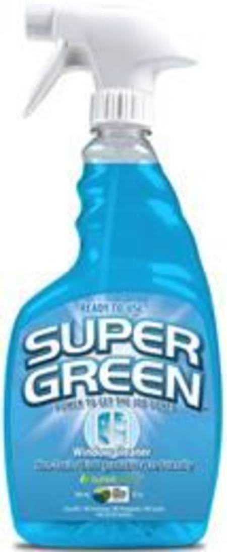 SUPERGREEN  READY-TO-USE ALL PURPOSE WINDOW CLEANER TRIGGER BOTTLE 946ml