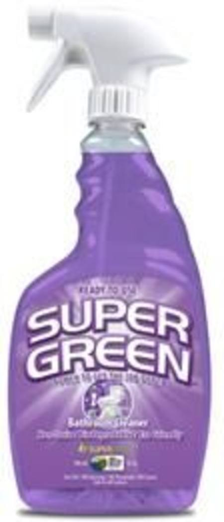 SUPERGREEN  READY-TO-USE BATHROOM CLEANER TRIGGER BOTTLE 946ml