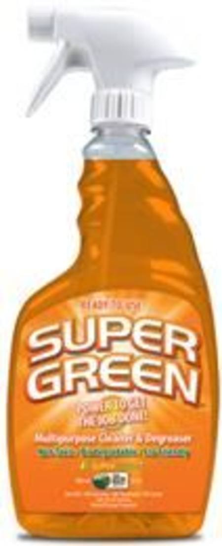 SUPERGREEN  READY-TO-USE ORANGE CLEANER TRIGGER BOTTLE 946ml