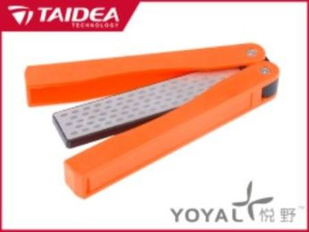 TAIDEA ENCLOSED DIAMOND KNIFE SHARPENER 360 / 600 GRIT