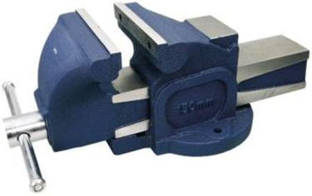 TOLEDO 100mm FIXED BASE BENCH VICE