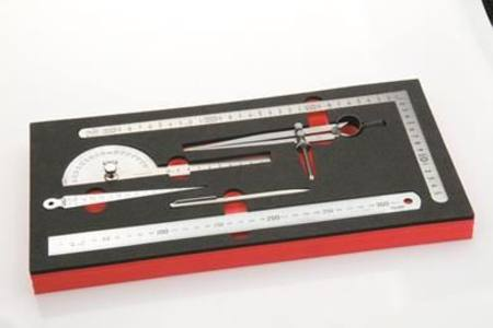 TOLEDO 6PC PRECISION MEASURING SET