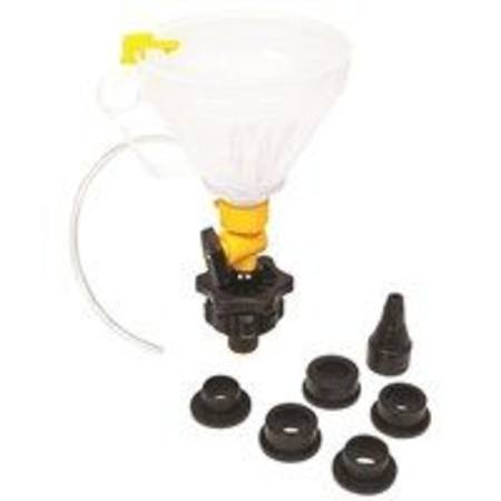 TOLEDO COOLANT FILLER FUNNEL 8PC SET
