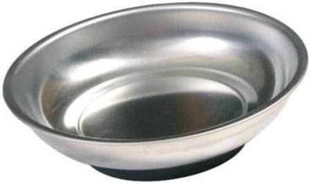 TOLEDO ROUND 150mm MAGNETIC STAINLES STEEL TRAY