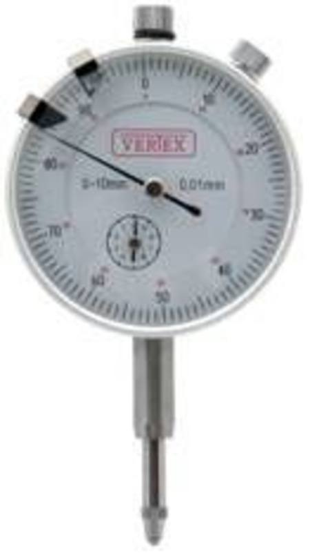 VERTEX 0-10mm DIAL GAUGE 0.01mm GRADUATIONS